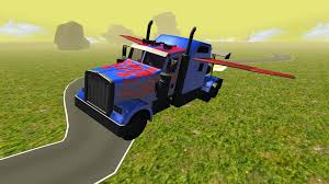 100 Transformer Truck Flying Car 2 APK Download Android Simulation Games