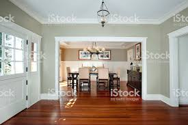 Front Entrance And Dining Room Royalty Free Stock Photo