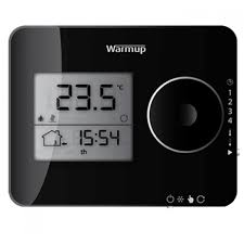 Easy Heat Warm Tiles Thermostat by Electric Underfloor Heating Buy Warmup Tempo Thermostat