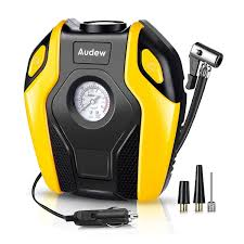 Audew Portable Air Compressor Pump, 12V DC Tire Inflator, 150 PSI ... Tire Inflator From Northern Tool Equipment 2018 Car Truck Tyre Tire Air Inflator Pump Hose Pssure Meter Gauge Digital Compressor Deko For Suv Motor 6mm Brass Valve Connector Clipon Epauto 12v Dc Portable By Cheap Find Deals On Line At 12volt 150 Psi Compact Mini Inflatorsuperpow Auto 100psi Inflators Or China Jqiao Auto Audew