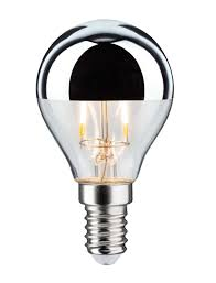 led drop 2 5 watt e14 crown mirror paulmann lighting