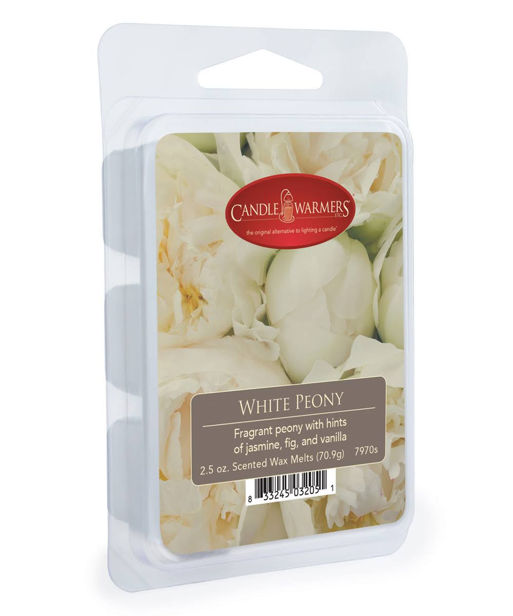 Candle Warmers Peony Wax Melt - White, 2.5oz