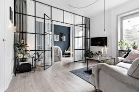 100 Sliding Walls Interior Luxurious Loft Custom Steel Glass Partitions Frameless