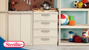 Garage Storage Cabinets At Walmart by Furniture Stylish Sterilite Drawers For Modern Home Storage Ideas