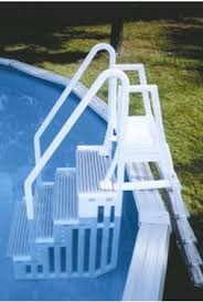 Above Ground Pool Ladder Deck Attachment by Best Above Ground Pool Ladders Reviews August 2017 Above