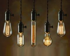 240 volt 40w glass edison filament c35l light bulb e14
