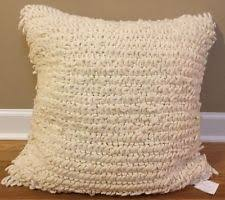 Pottery Barn Decorative Pillows Ebay by Pottery Barn Textured Square Home Décor Pillows Ebay