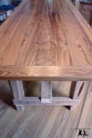 reclaimed heart pine farmhouse table u2013 diy u2013 part 5 u2013 final