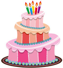 Pink Birthday Cake PNG Clipart