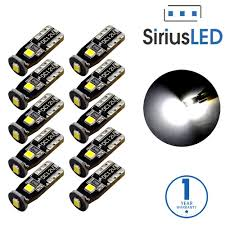 siriusled extremely bright 3030 chipset led bulbs for
