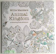Animal Kingdom Colouring Book Indigo