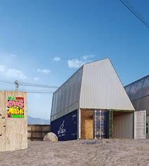 100 Containers As Houses TRS Studio Envisions Shipping Containers As Affordable