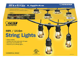 48 foot string lights feit electric