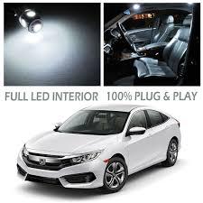 led interior dome map light bulb kit xenon white for 2016 honda