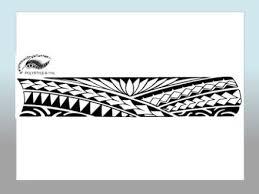 Polynesian Style Arm Tattoo Designs Maori ArmArmband
