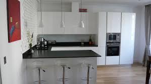 amazing cuisine moderne blanc laque 6 cuisine lineaquattro en u