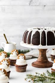 Gingerbread Cupcakes And Pound Cake