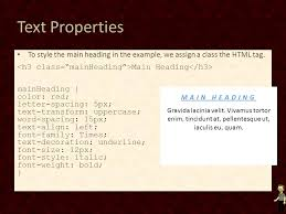 Text Decoration Underline More Space by Cascading Style Sheets Ppt Download