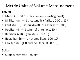 100 milliliters to liters measuring volume what is volume volume is the amount of space an