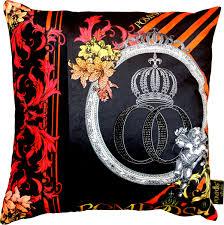 harald glööckler designer deko kissen pompöös by casa padrino mit glitzersteinen black collection pompöös by casa padrino