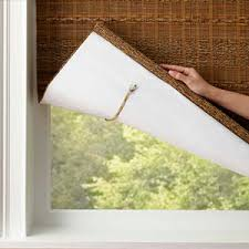 Light Filtering Privacy Curtains by Bamboo Shades Woven Wood Blinds From Selectblinds Com