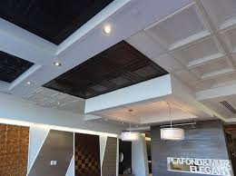 Ceilume Ceiling Tiles Montreal by Suspended Ceiling Tiles Montreal Showroom 3 Basement Celing
