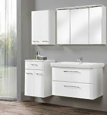 pelipal badmöbel set 5 teilige weiß hochglanz mit