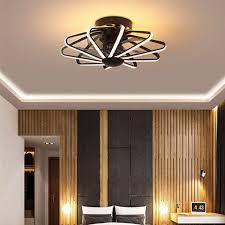led decke ventilator le fan licht schlafzimmer wohnzimmer len integrierte fans ac220v reinem kupfer motor mit fernbedienung contorl