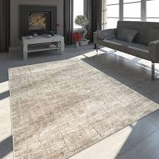 orient teppich modern abstraktes design beige boho style