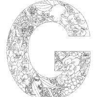 Plant Alphabet Letter G