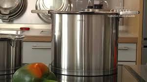 batterie de cuisine cristel batterie de cuisine en inox de la collection strate amovible par