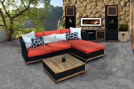 Red Patio Furniture Pinterest by Tuku Sectional U0026 Storage Table Wicker Patio Furniture