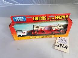 100 Ertl Trucks Of The World Mac Flatbed W Case 70 Se