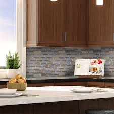 Mapei Thinset For Glass Tile by Shop Allen Roth River Bank Light Blue Glazed Porcelain Mosaic