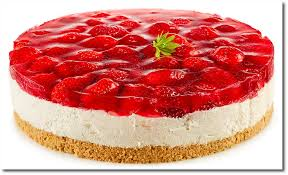 quark rhabarber erdbeer torte