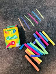 100 Chalks Truck Parts Crayola 510816 6 Assorted Colors Drawing Chalk 12Box Crayola