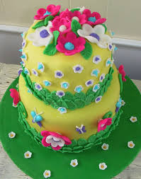 Decorating Birthday Cake with Fondant Birthday Cake CAKE DESIGN