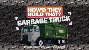 How'd They Build That? GARBAGE TRUCK In HD! - YouTube