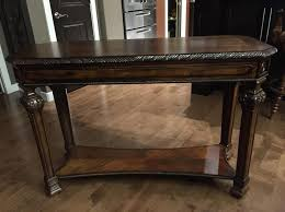 Norcastle Sofa Table Ashley Furniture by 19 Best Tables Images On Pinterest Brown Finish Dark Brown And