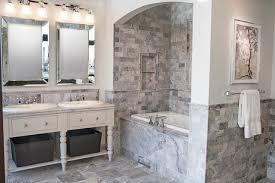 the claros silver travertine collection traditional bathroom