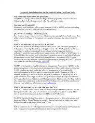 Resume Examples For Medical Billing And Coding Biller Sample Certificate Jobs