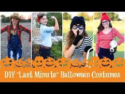 Rosie The Riveter Halloween Diy by 4 Diy Last Minute Halloween Costumes Brooklyn U0026 Bailey Youtube