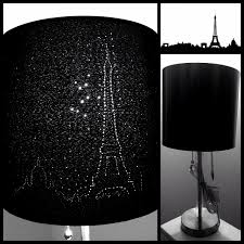 Diy Punched Tin Lamp Shade by Diy Paris Skyline Eiffel Tower Lampshade Crafts Pinterest