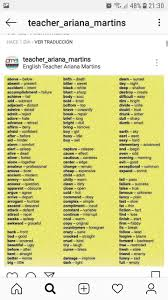 Pin By Shaimamalik On English Grammar English Vocabulary