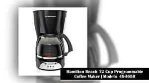 Best 10 Hamilton Beach Coffee Maker To Buy In 2018