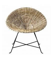 siege en rotin fauteuil en rotin design kabu chair de la marque bloomingville