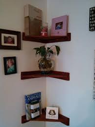 pallet living room corner shelves pallet furniture diy