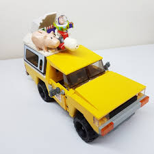 100 Pizza Planet Truck 7598 Rescue Toy Story TM Toys Games Bricks