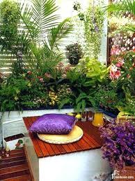 Balcony Garden Design Small Ideas Designs India