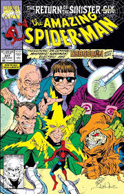 Return Of The Sinister Six Story Arc